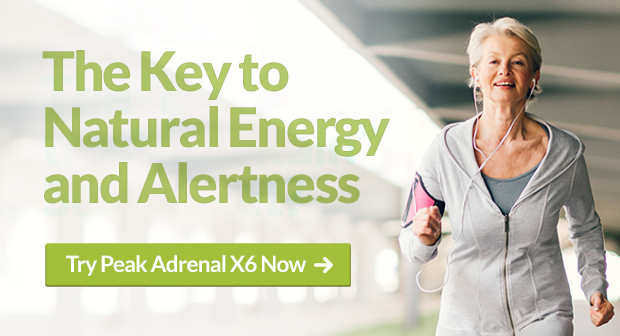 Supplement for Adrenal Health - Peak Adrenal X6