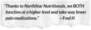 NorthStar Nutritionals pain relief products